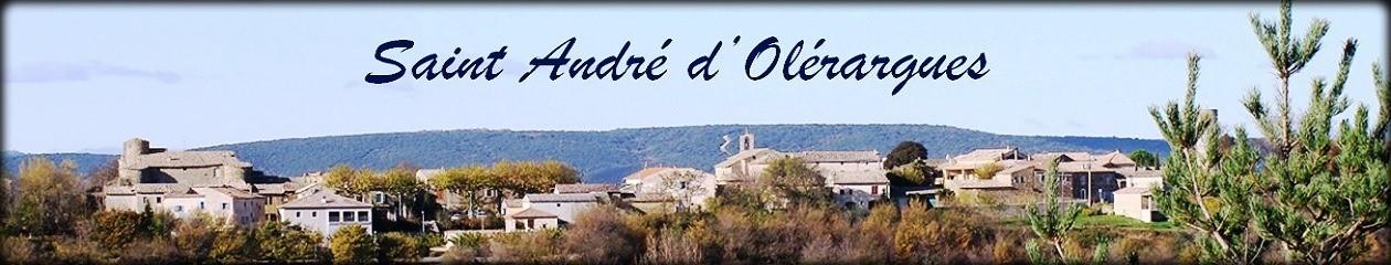 Actualites de Saint Andre d'Olerargues – Cliquez sur un Numéro de page (et non pas sur les logos)