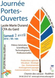 portes ouvertes CFA Gard